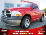 2009 Flame Red Dodge Ram 1500 ST Regular Cab #51856422