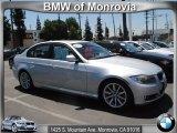 2010 Titanium Silver Metallic BMW 3 Series 328i Sedan #51856593