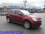 2010 Cardinal Red Metallic Chevrolet Equinox LS AWD #51857208