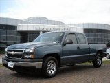 2006 Blue Granite Metallic Chevrolet Silverado 1500 Work Truck Extended Cab #5180617