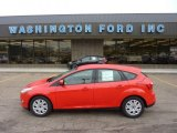 2012 Race Red Ford Focus SE 5-Door #51856678
