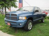 2005 Atlantic Blue Pearl Dodge Ram 1500 Sport Quad Cab 4x4 #51857311