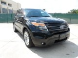 Ebony Black Ford Explorer in 2011