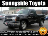 2005 Black Chevrolet Silverado 1500 Z71 Regular Cab 4x4 #51942973
