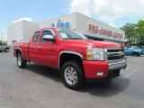 2007 Victory Red Chevrolet Silverado 1500 LTZ Extended Cab 4x4 #51943433