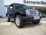 2011 Black Jeep Wrangler Sahara 4x4 #51943443