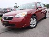 2007 Sport Red Metallic Chevrolet Malibu LT Sedan #51943156
