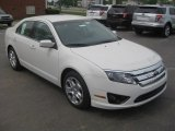 2011 White Suede Ford Fusion SE #51943302