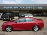 2010 Sangria Red Metallic Ford Fusion Sport AWD #51943318