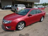 2010 Ford Fusion Sangria Red Metallic