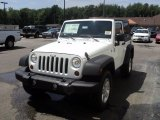 2011 Bright White Jeep Wrangler Sport S 4x4 #51943475