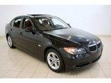 2008 Black Sapphire Metallic BMW 3 Series 328xi Sedan #51943486
