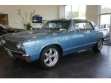 1967 Chevrolet Chevelle Nantucket Blue Metallic