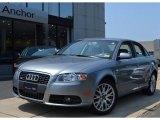2008 Quartz Grey Metallic Audi A4 2.0T quattro S-Line Sedan #51943233