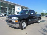 2002 Forest Green Metallic Chevrolet Silverado 1500 LS Regular Cab #51943355