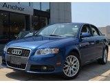 2008 Ocean Blue Pearl Effect Audi A4 2.0T quattro S-Line Sedan #51943237
