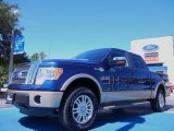 2011 Blue Flame Metallic Ford F150 King Ranch SuperCrew 4x4 #51943091