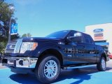 2011 Ebony Black Ford F150 Lariat SuperCrew 4x4 #51943092