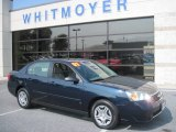 2007 Dark Blue Metallic Chevrolet Malibu LS Sedan #51989424