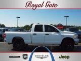 2007 Bright White Dodge Ram 1500 ST Quad Cab 4x4 #51988963