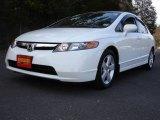2007 Taffeta White Honda Civic EX Sedan #5175318