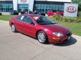 2004 Chrysler 300 Inferno Red
