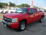 2008 Victory Red Chevrolet Silverado 1500 Work Truck Extended Cab #51989457