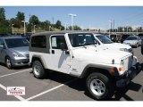 2006 Stone White Jeep Wrangler Unlimited 4x4 #51988855