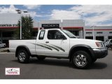 1998 Cloud White Nissan Frontier XE Extended Cab 4x4 #51988862