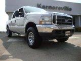 2004 Silver Metallic Ford F250 Super Duty XLT Crew Cab 4x4 #51989401