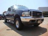 2003 True Blue Metallic Ford F250 Super Duty FX4 Crew Cab 4x4 #51989402