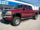 2005 Sport Red Metallic GMC Sierra 2500HD SLT Crew Cab 4x4 #51989420