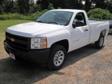 2011 Summit White Chevrolet Silverado 1500 Regular Cab #52039939