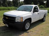 2011 Summit White Chevrolet Silverado 1500 Regular Cab #52039940