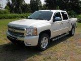 2011 White Diamond Tricoat Chevrolet Silverado 1500 LT Crew Cab 4x4 #52039942