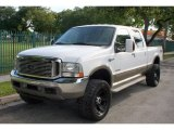 2004 Oxford White Ford F250 Super Duty King Ranch Crew Cab 4x4 #52039673