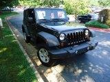 2011 Black Jeep Wrangler Sport 4x4 #52039981