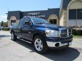 2008 Patriot Blue Pearl Dodge Ram 1500 Lone Star Edition Quad Cab #52039837
