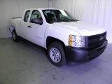 2011 Summit White Chevrolet Silverado 1500 Extended Cab #52039852
