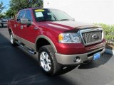 2006 Dark Toreador Red Metallic Ford F150 Lariat SuperCrew 4x4 #52039449