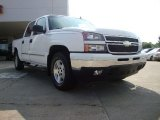 2006 Summit White Chevrolet Silverado 1500 LT Crew Cab 4x4 #52039888