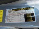 2011 Hyundai Genesis 4.6 Sedan Info Tag