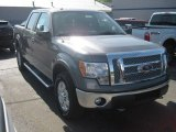2011 Sterling Grey Metallic Ford F150 Lariat SuperCab 4x4 #52039735