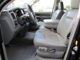 2008 Dodge Ram 3500 SLT Quad Cab 4x4 Medium Slate Gray Interior