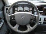 2008 Dodge Ram 3500 SLT Quad Cab 4x4 Steering Wheel