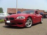 2007 BMW M Imola Red