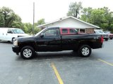 2007 Black Chevrolet Silverado 1500 LT Regular Cab 4x4 #52039924