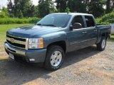 2011 Blue Granite Metallic Chevrolet Silverado 1500 LT Crew Cab #52039935