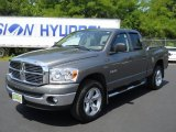 2008 Mineral Gray Metallic Dodge Ram 1500 Big Horn Edition Quad Cab 4x4 #52087155