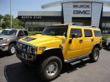 2003 Yellow Hummer H2 SUV #52087012